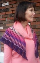 Tropical Sunset Shawl Pattern