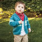 All-in-One-Piece Hooded Child's Sweater Pattern