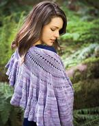 Fibonacci Golden Spiral Shawl Pattern