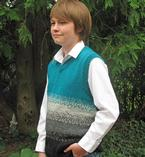 Pop Rock Men's Vest Pattern