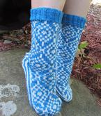 Diamonds on the Soles of Her Socks Pattern