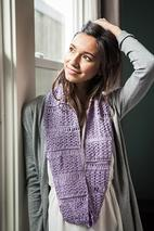 Blossom and Broomsticks Crochet Infinity Scarf Pattern