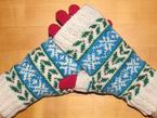 Deck the Halls 2014: The Fingerless Mitts Pattern