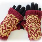 Versailles Fingerless Mitts Pattern