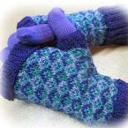 Tessellating Diamonds Mitts Pattern