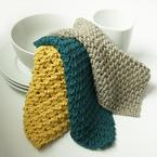 Post Stitch Dishcloth Sampler Pattern