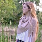 Thoreau's Pond Shawl Pattern