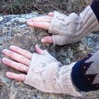 Michilimackinac (Big Turtle) Hand Warmers Pattern