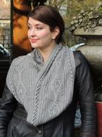Retrospective Infinity Scarf / Cowl Pattern