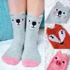 Pawsome Pals Animal Socks Pattern