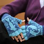 Dancing Dolphin Mitts Pattern