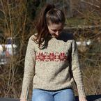 Vintage Winter Sweater Pattern