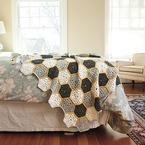 Busy Bee Throw Pattern