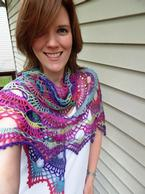 Nova Crochet Shawl Pattern
