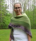 Shades of the Half Blood Prince Shawl Pattern