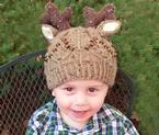 Toddler Deer Hat Pattern