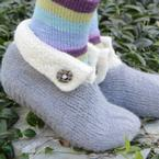 Gliss Felted Slippers Pattern
