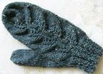 Layered Leaves Fingerless Mitts or Mittens Pattern