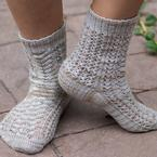 Café Mocha Socks Pattern