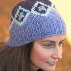 Cathedral Diamonds Hat Pattern