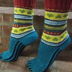 In Loving Color Socks Pattern