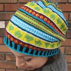 In Loving Color Hat Pattern