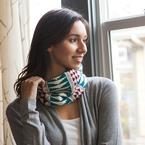 Color Point Cowl Pattern