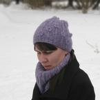 Flowerbud Hat and Cowl Pattern