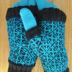 Mai Dai Fingerless Mitts Pattern