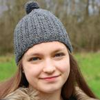 Grass-Stitch Beanie Pattern