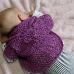 Swing-in-a-Circle Infant Bolero Pattern