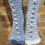 What the World Needs Now Socks Pattern