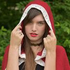 Enchanted Rose Hood Pattern