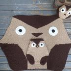 Hexagon Owl Set Pattern