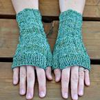 Climbing Cable Mitts Pattern