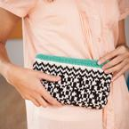 Black & White Clutch Pattern