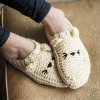 Meow-ccasin Slippers Pattern