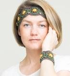 Midsummer Headband and Bracelet Pattern
