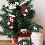 Holiday Sweater and Stocking Ornaments Pattern