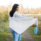 Sideways Shawl Pattern