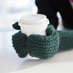Curly Cable Mittens Pattern