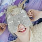 Kitty Sleep Mask Pattern