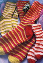 Stripy Socks Pattern Pattern