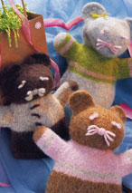Felted Friends Hand Puppet Pattern Pattern