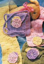 Appliqued Purse and Scarf Pattern Pattern