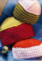 Striped Hat Pattern Pattern