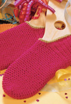 Crocheted Footies Pattern Pattern