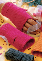 Crocheted Fingerless Gloves Pattern Pattern