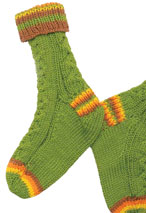 Cable Guy Socks Pattern Pattern