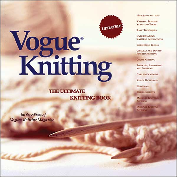 Vogue Knitting: The Ultimate Knitting Book
